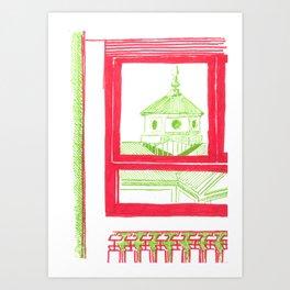 home view Art Print