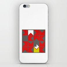 falling in iPhone & iPod Skin