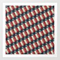 Vintage Texas flag pattern by brucestanfieldartistpatterns