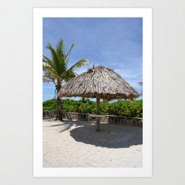 Postcard Paradise 3 Art Print