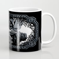 lotr Mugs featuring There and Back Again by Fuacka