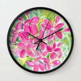 Ixora Wall Clock