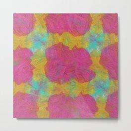 Abstract Tie Dye #13 Metal Print
