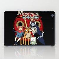 mononoke iPad Cases featuring Mononoke Time by RebelArtCollective