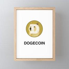 Dogecoin Framed Mini Art Print