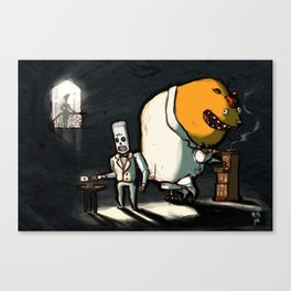 Use Verb on Noun #11: Grim Fandango Canvas Print