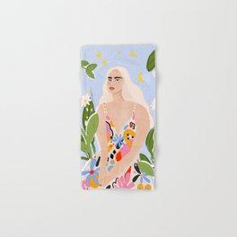 Abstract dress Hand & Bath Towel
