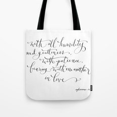Bearing in Love Tote Bag