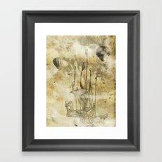 strange world Framed Art Print