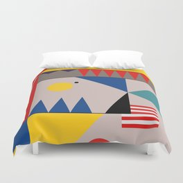 LANDSCAPES FROM THE PAST Duvet Cover