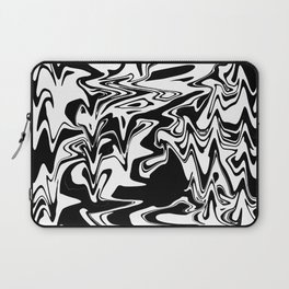 snow and shadow, abstract Laptop Sleeve