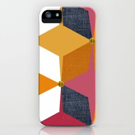 KALEIDOSCOPE 02 #HARLEQUIN iPhone Case