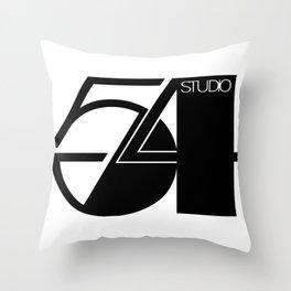 Studio 54 Art Print, Black White Poster, Art Prints, Fashion Print, Minimalist Print, Modern Art, Mi Throw Pillow