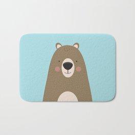Bears Are Friendly Bath Mat
