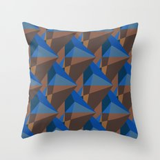Earth Diamonds Throw Pillow