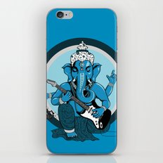 Ganesha rocks ! (v1) iPhone & iPod Skin