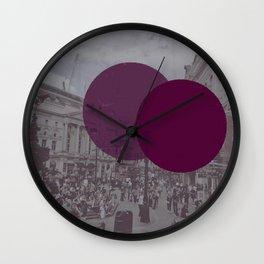 London Square Wall Clock