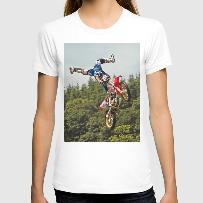 Motocross stuntman T-shirt