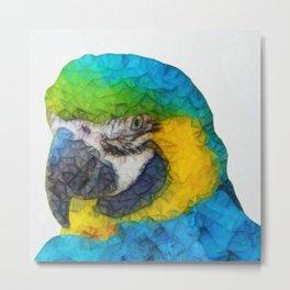 parrot 2 Metal Print