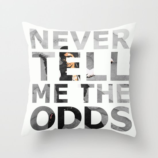 Star Wars Han Solo Quote Throw Pillow