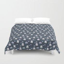 Sleepy sloths pattern Duvet Cover