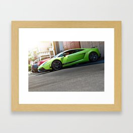 Lamborghini Gallardo LP570-4 Superleggera Car Supercar Framed Art Print