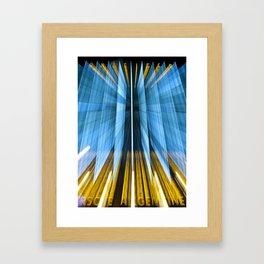 Anzeiger Warp Framed Art Print