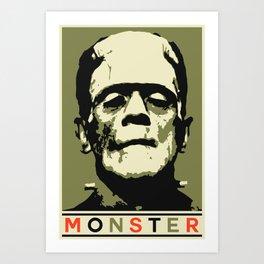 Monster (Boris Karloff) Art Print