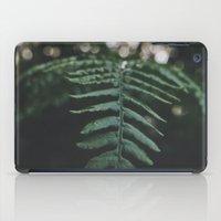 fern iPad Cases featuring Fern by Bor Cvetko