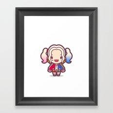Daddy's Lil Monster Framed Art Print