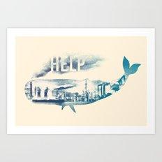 Help Art Print