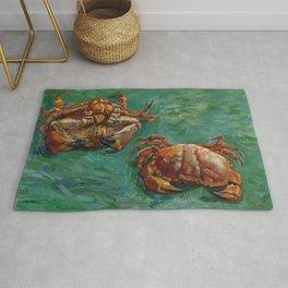 Vincent van Gogh, Two Crabs, 1889 Rug