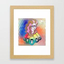 KALEIDOSCOPE VENUS Framed Art Print