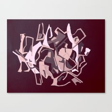 ABSTRACT COLLAGE Canvas Print