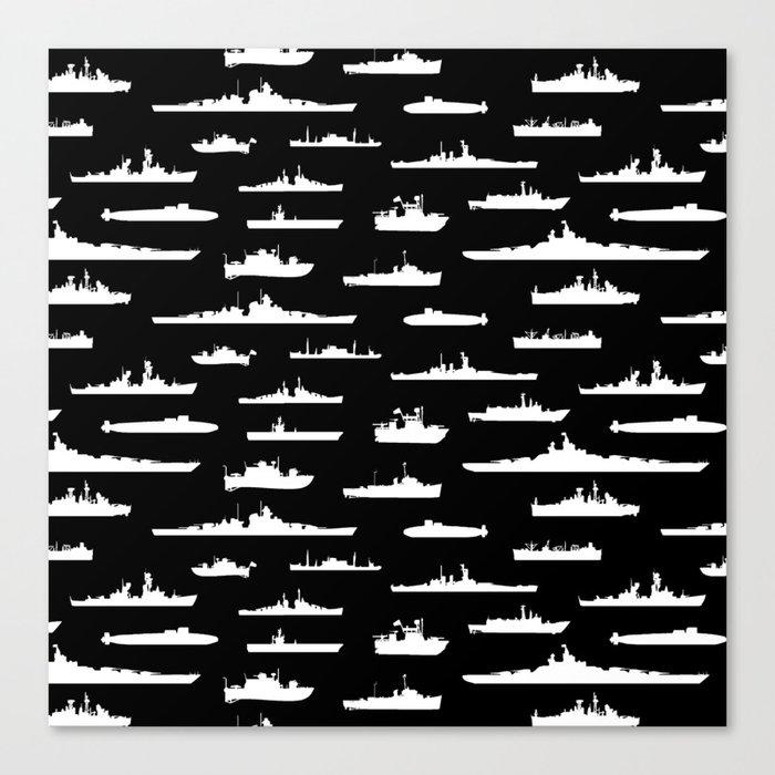 Battleship // Black Leinwanddruck