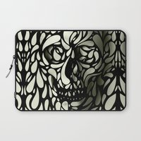 3d Laptop Sleeves featuring Skull by Ali GULEC