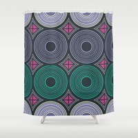 mod Shower Curtains featuring Mod Returns by MY  HOME