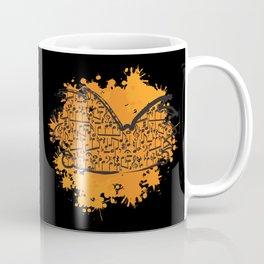 Musical Football Head Coffee Mug