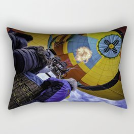 Hot Air Balloon Rectangular Pillow