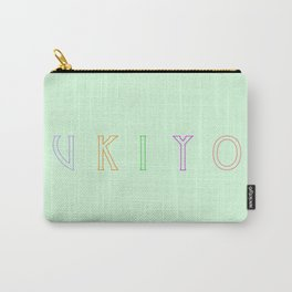 Zen Ukiyo Living In The Moment Carry-All Pouch