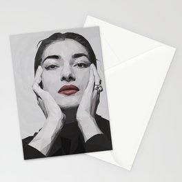 Geometric Callas Stationery Cards