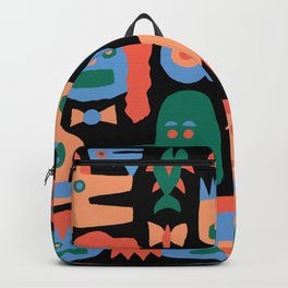 COLORFUL FACES Backpack