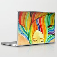 grace Laptop & iPad Skins featuring grace by sylvie demers