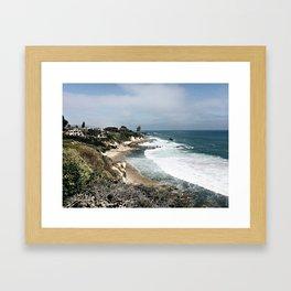little corona Framed Art Print