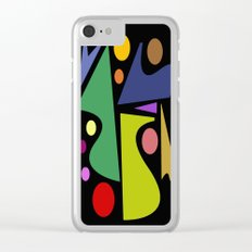 Abstract #301 Clear iPhone Case