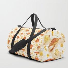 Hawksbill Sea Turtles Duffle Bag
