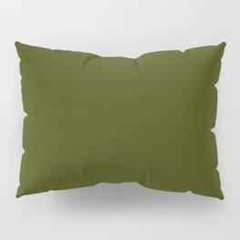 Dark olive Pillow Sham