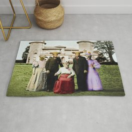 Cowtown Abbey Rug
