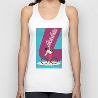 cycling Tank Tops featuring Cycling by Carlos Hernandez