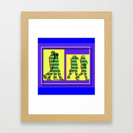 Capitalist Perspective Framed Art Print